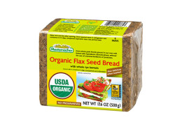Organic-Flax-Seed-Bread