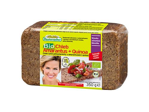 Bio Chleb Amarantus + Quinoa