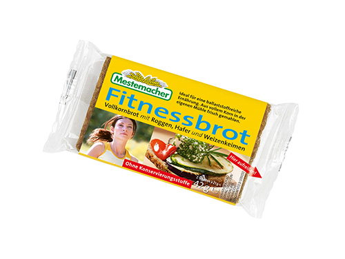 Portionspackung-Fitnessbrot