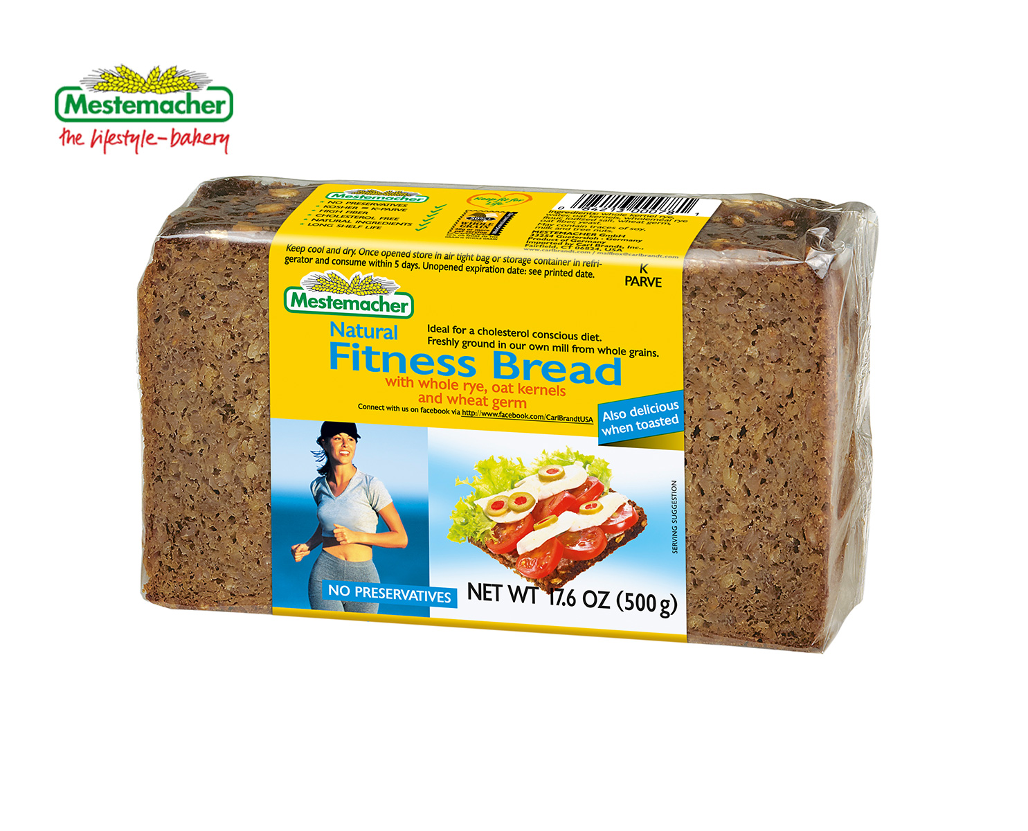 Natural Fitness Bread – Mestemacher