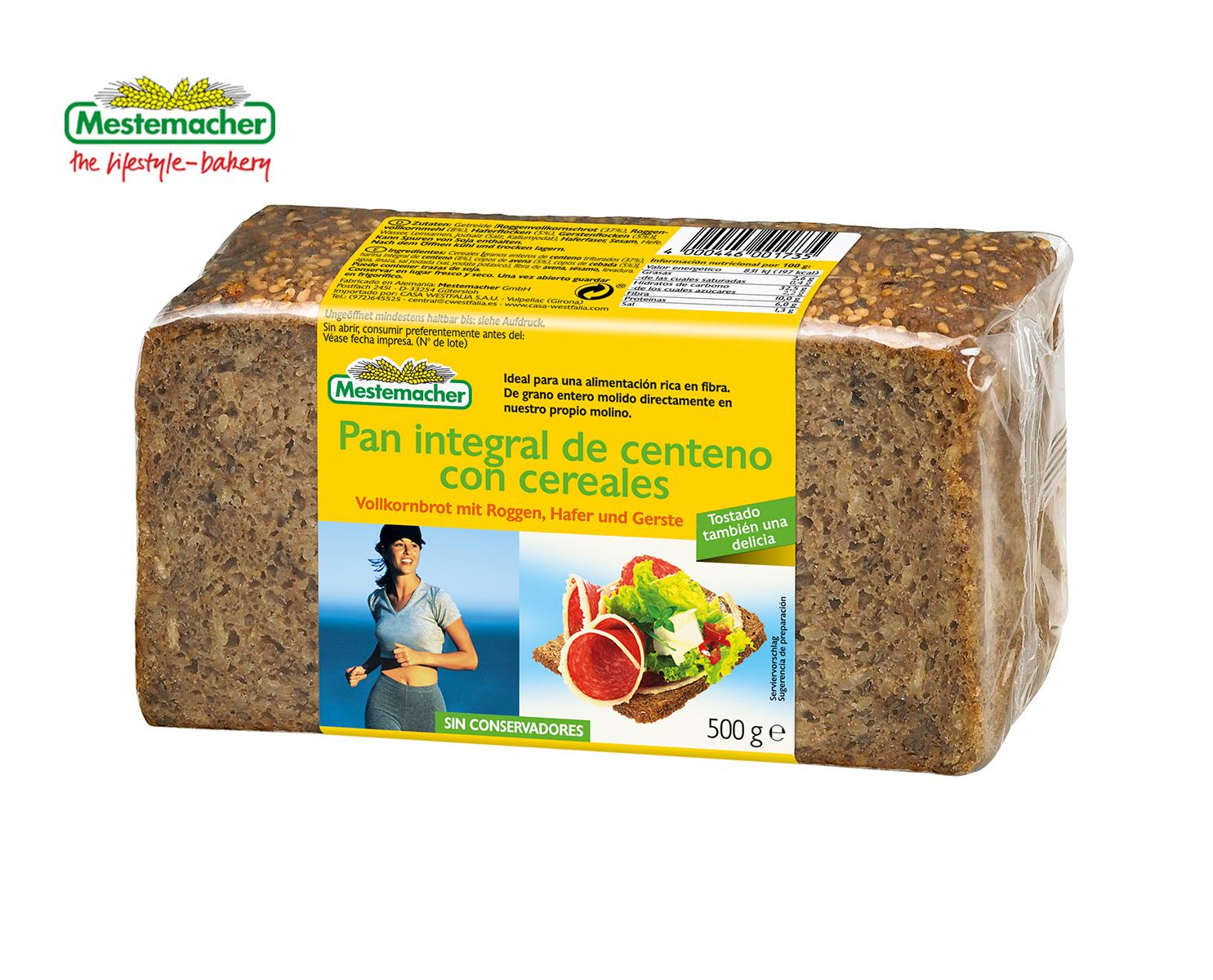 pan de soja ingredientes