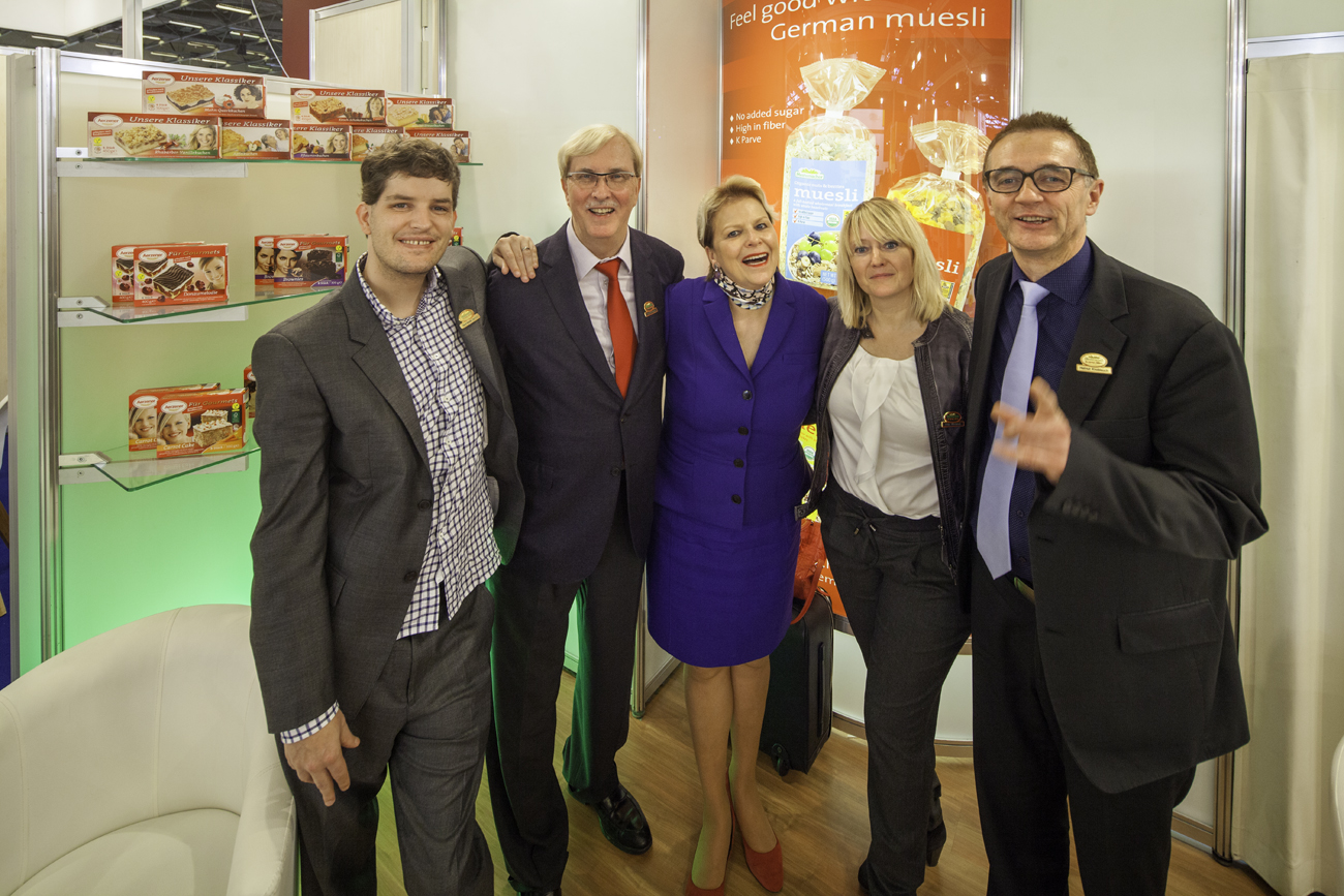 Mestemacher - SIAL 2016 Paris - Exhibition Team