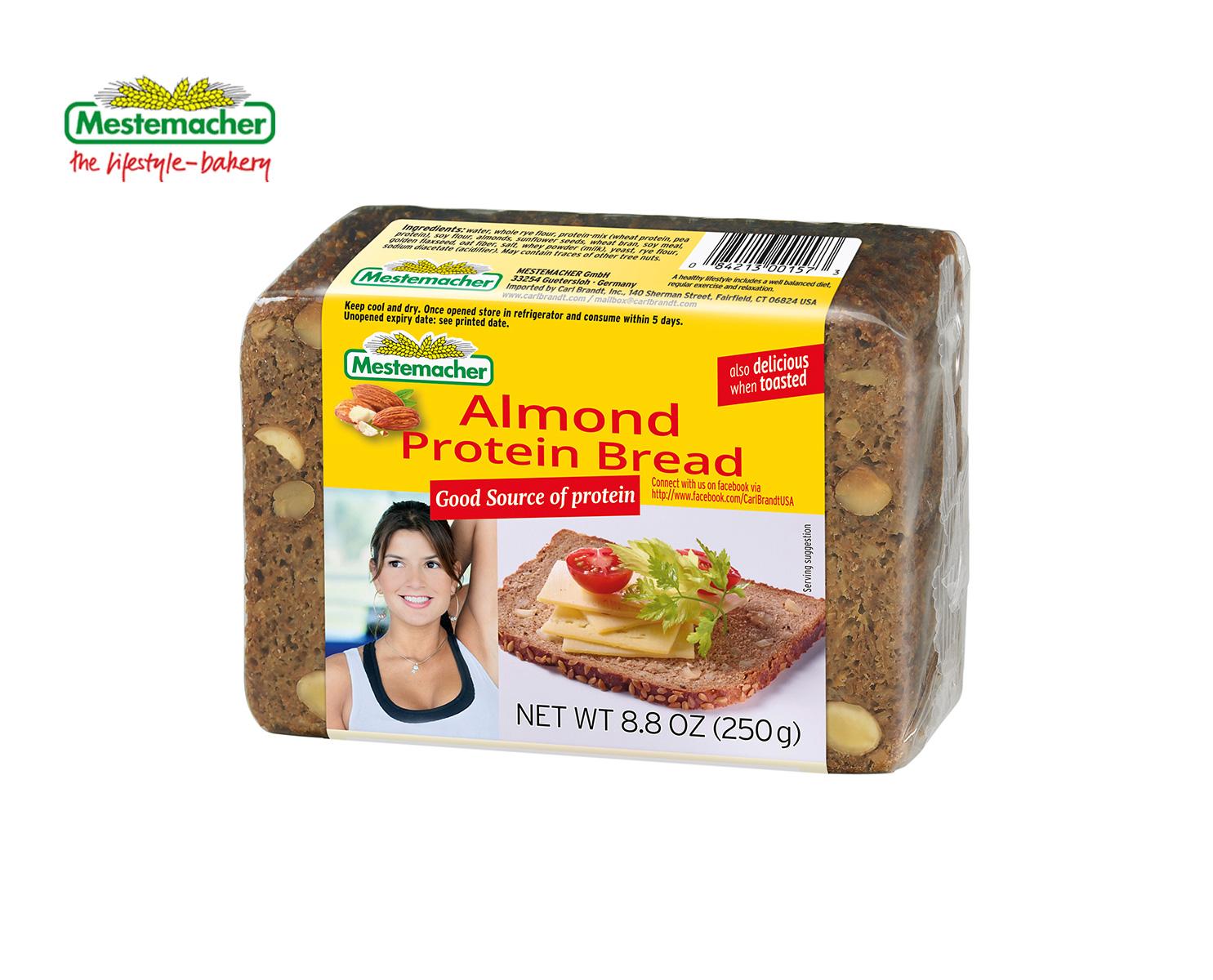 Almond Protein Bread – Mestemacher